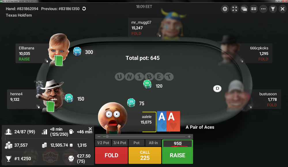 Different Types Of Online Poker Tournament – Betting