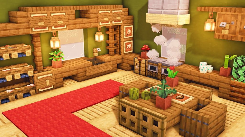 Ways To Prevent Minecraft Cooking Area Concepts Modern Burnout